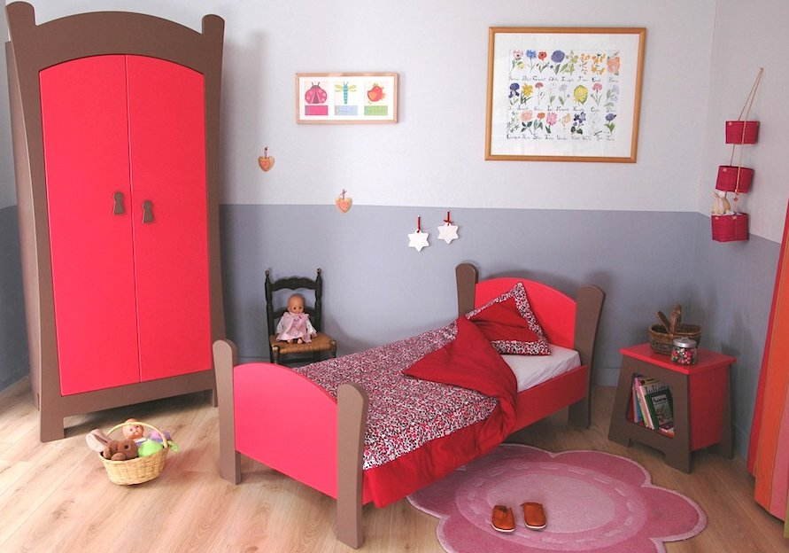 decoration originale chambre petite fille. Black Bedroom Furniture Sets. Home Design Ideas