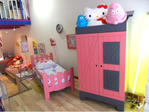great lit a la ferme with lit d enfant original. Black Bedroom Furniture Sets. Home Design Ideas