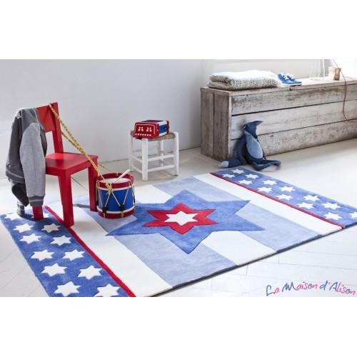 tapis enfant bleu tapis enfant bleu sur enperdresonlapin. Black Bedroom Furniture Sets. Home Design Ideas